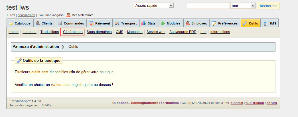 Comment activer l'URL Rewriting via Prestashop ?